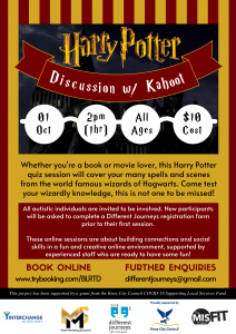 Harry Potter Discussion w Kahoot - 1st Oct Edit 1