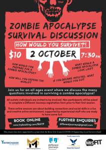 Zombie Apocalypse Survival - 2nd Oct